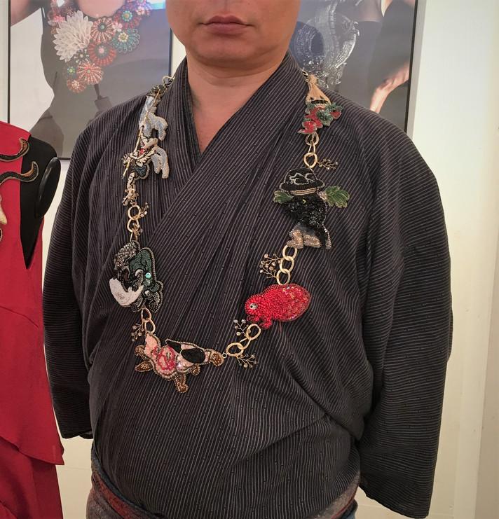 ビーズ作家・古川真貴子さんの個展へGO!