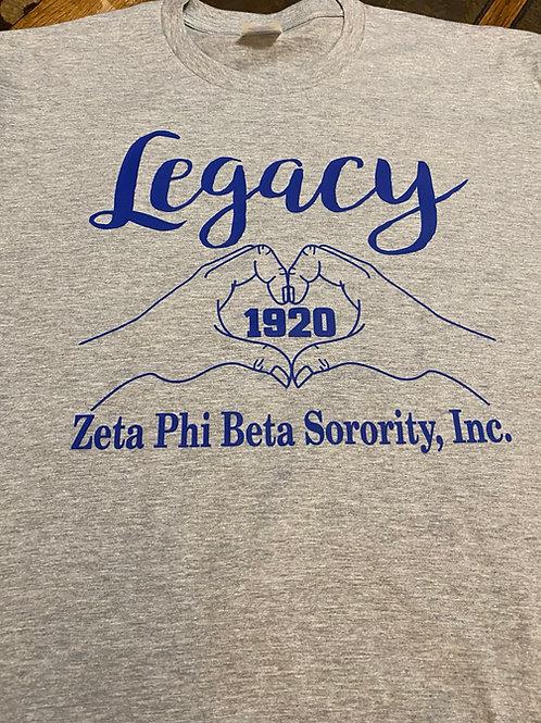 Zeta Legacy Hands T-Shirt