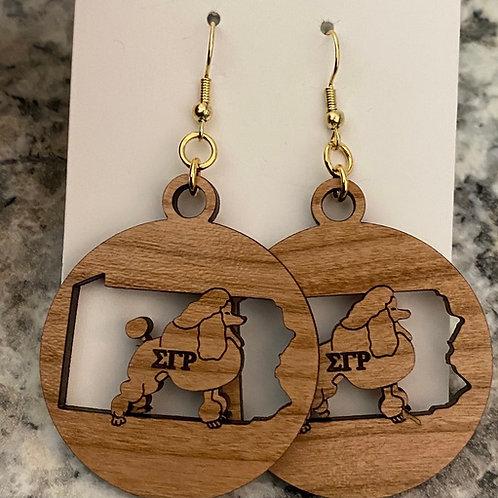SGRho Pennsylvania Earrings