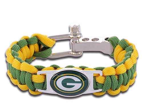 Green Bay Corded Bracelet