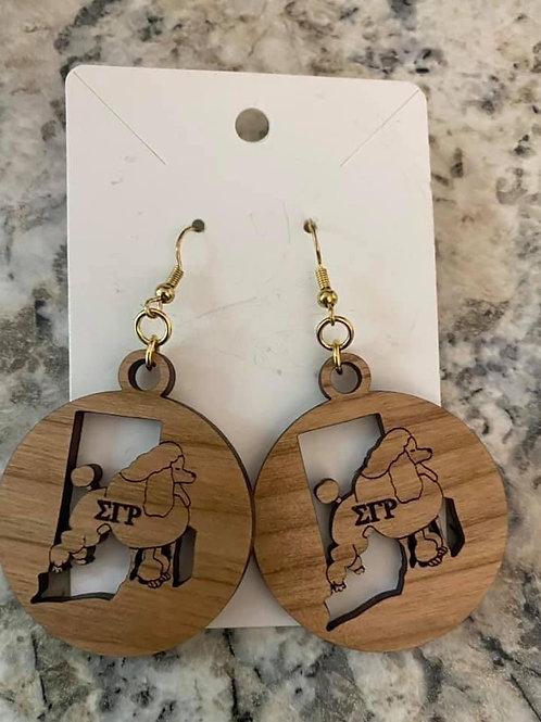 SGRho Rhode Island Earrings