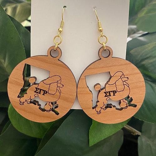 SGRho Louisiana Earrings