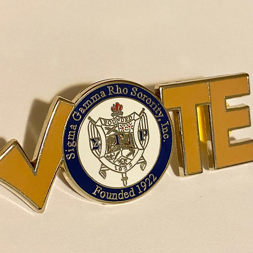 Sigma Gamma Rho Vote Pin