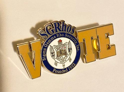 SGRhos Vote Pin