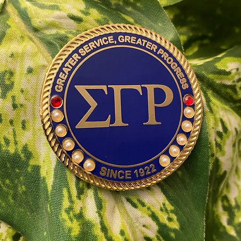 SGRho Royal Executive Lapel Pin