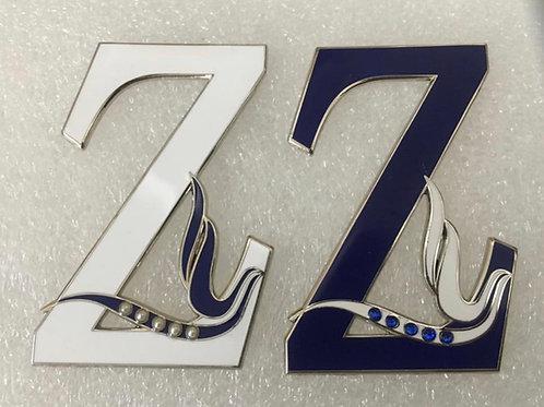 Zeta Phi Beta Large Z with Dove