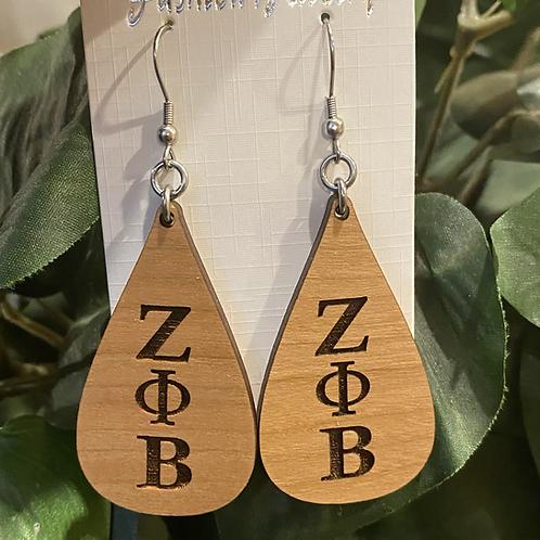 Zeta Teardrop Earrings