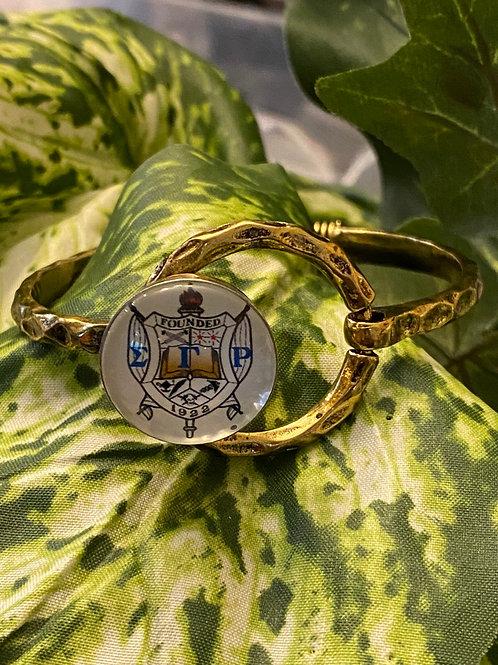 Sigma Gamma Rho Snap Bracelet