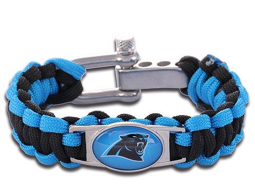 Panthers Corded Bracelet