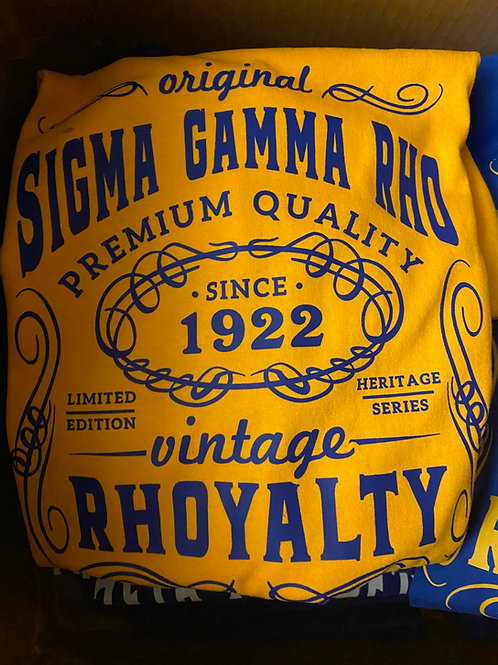 SGRho Gold Vintage T Shirt -UNISEX