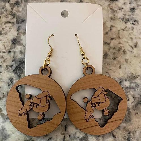 SGRho South Carolina Earrings