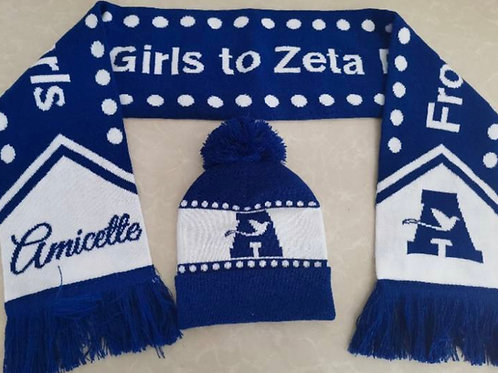Amicette Scarf and Hat Set