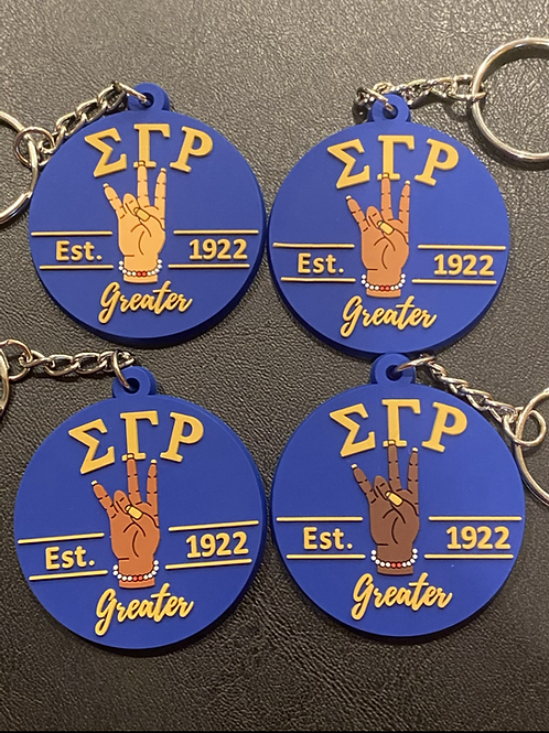 SGRho Royal Greater Keychain