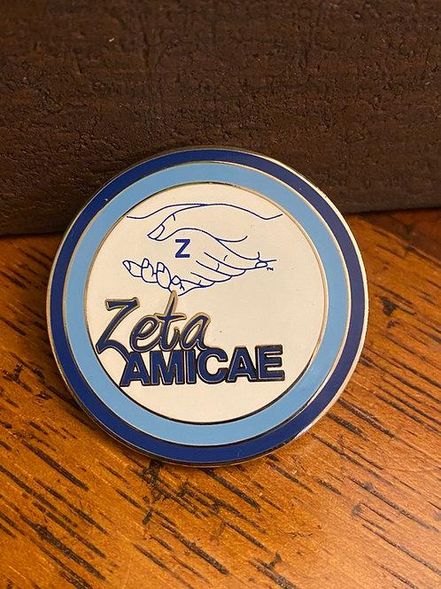 Zeta Amicae Lapel Pin