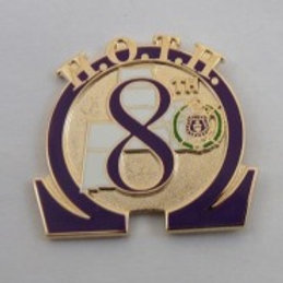 Omega Psi Phi 8th District Lapel Pin