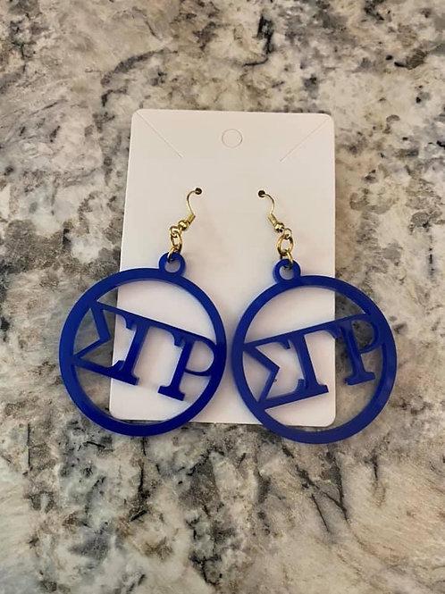 SGRho Acrylic Earrings