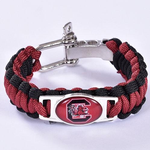 Gamecocks Corded Bracelet