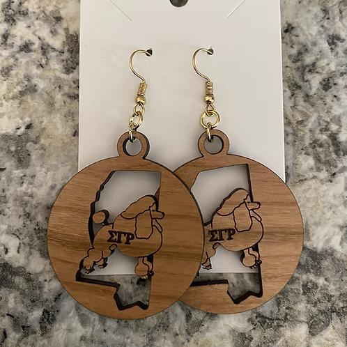 SGRho Mississippi Earrings