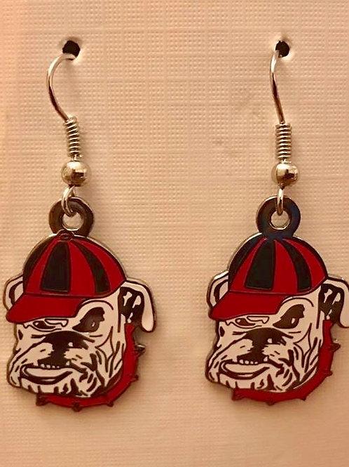 Bulldogs Earrings