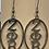 Thumbnail: Zeta Stainless Oval Earrings