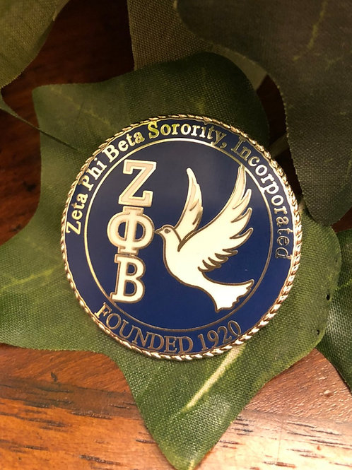 Zeta Phi Beta New Dove Lapel Pin