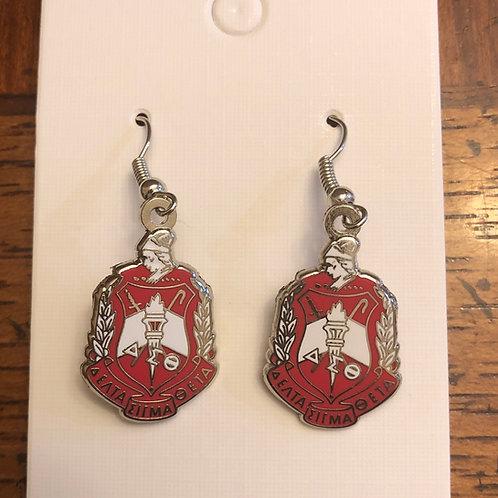 Delta Crest Earrings