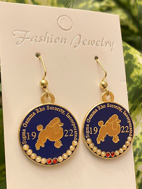 SGRho Poodle Earrings (Rhoyal)