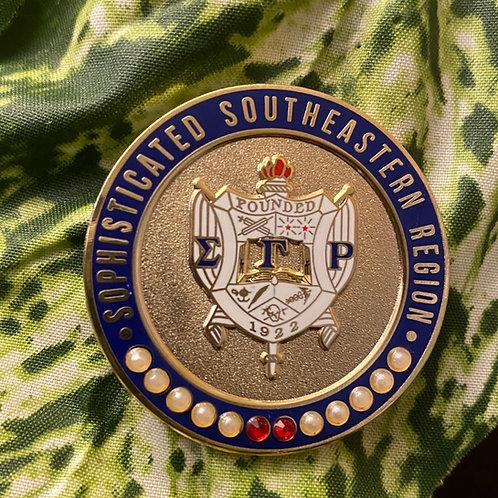 SGRho Southeastern Region Lapel Pin