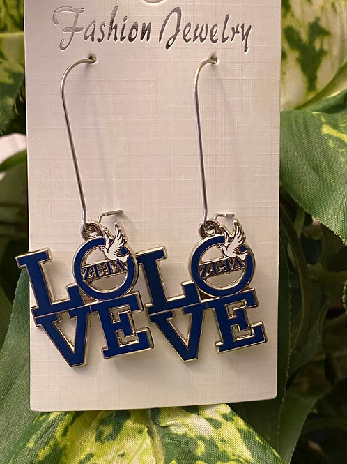 Zeta Love Earrings