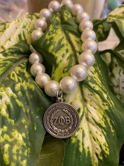 Zeta Executive Pearl Bracelet
