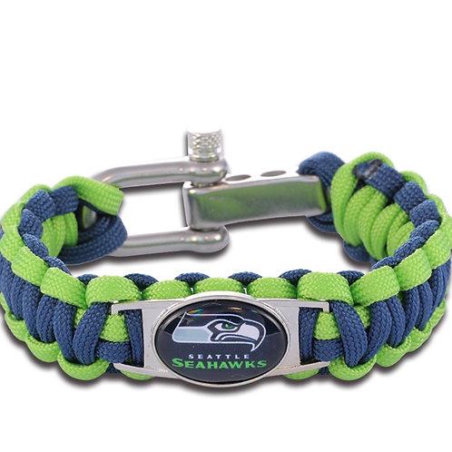 Seahawks Corded Bracelets