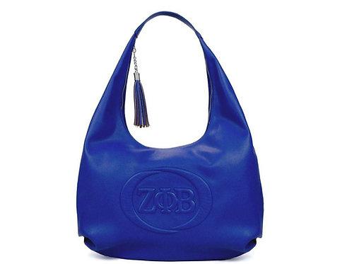Zeta Letters Hobo Shoulder Bag