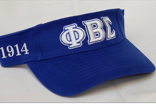 Phi Beta Sigma Blue Visor