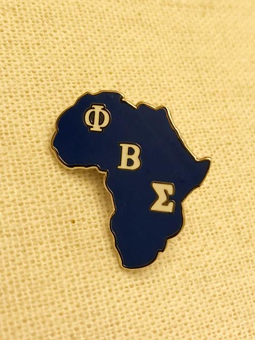 Sigma Africa Lapel Pin