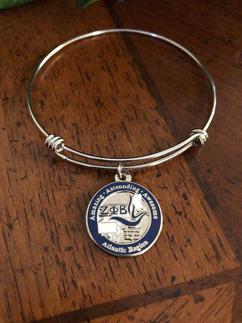 Zeta Atlantic Region Bangle Bracelet