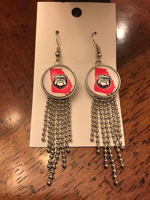 Georgia Dangling Snap Earrings