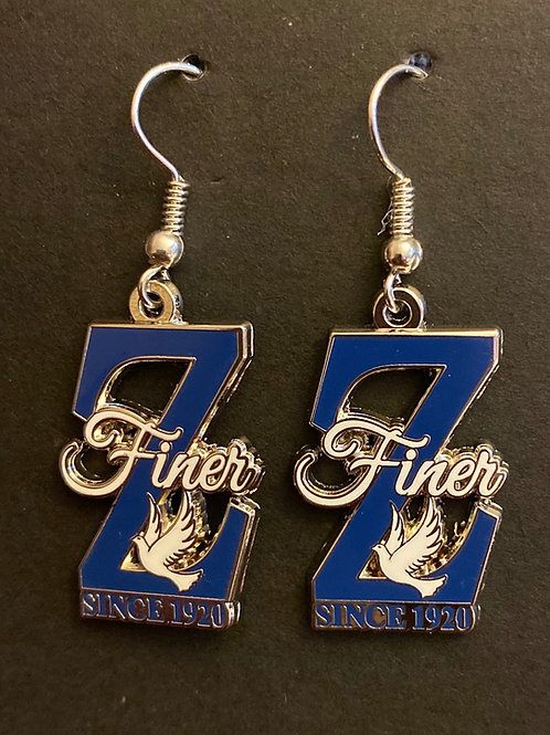 Finer Z Earrings
