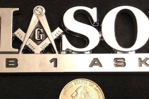 Mason Car Emblem