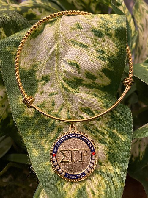 SGRho Gold Executive Bracelet