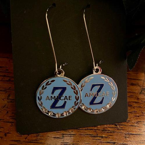 Zeta Amicae Wreath Earrings
