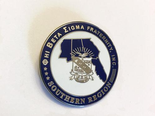 Phi Beta Sigma Southern Region Pin