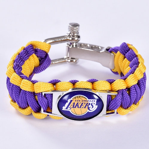 Lakers Corded Bracelet