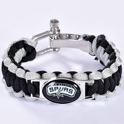 Spurs Corded Brscelet