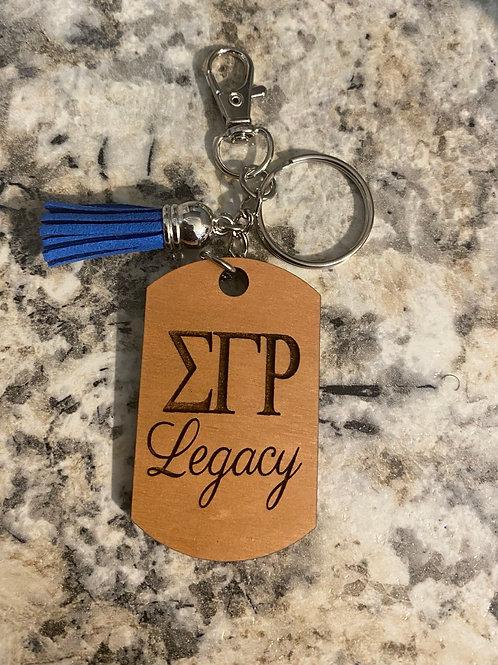 SGRho Legacy Keychain
