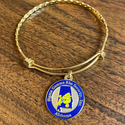 SGRho Alabama Stainless Bracelet