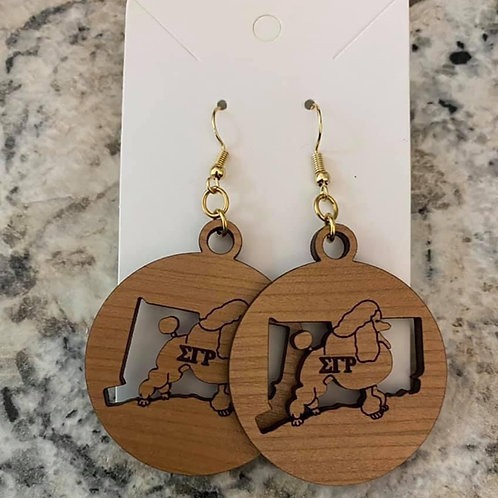 SGRho Connecticut  Earrings