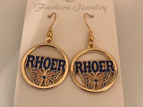 Rhoer Butterfly Earrings