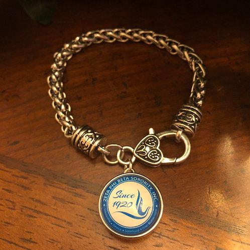 Zeta snap lobster claw bracelet