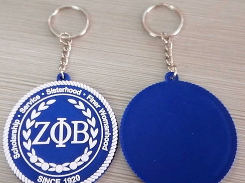 Zeta Principles Keychain