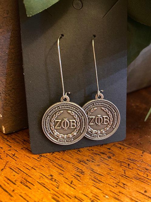 Zeta Antique Executive Earrings